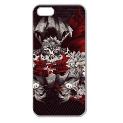 Patterns Bright Background  Apple Seamless Iphone 5 Case (clear) by amphoto