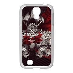 Patterns Bright Background  Samsung Galaxy S4 I9500/ I9505 Case (white) by amphoto