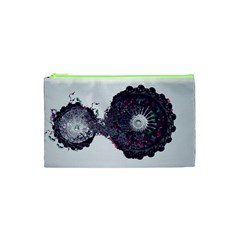 Circles Background Bright  Cosmetic Bag (xs) by amphoto