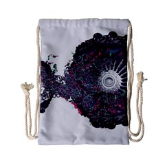Circles Background Bright  Drawstring Bag (small) by amphoto