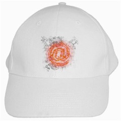 Symbol Fire Flame  White Cap by amphoto