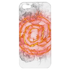 Symbol Fire Flame  Apple Iphone 5 Hardshell Case by amphoto
