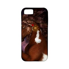 Steampunk Wonderful Wild Horse With Clocks And Gears Apple Iphone 5 Classic Hardshell Case (pc+silicone) by FantasyWorld7