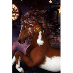 Steampunk Wonderful Wild Horse With Clocks And Gears 5 5  X 8 5  Notebooks by FantasyWorld7