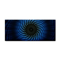 Patterns Circles Rays  Hand Towel by amphoto