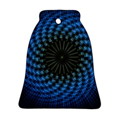 Patterns Circles Rays  Ornament (bell) by amphoto