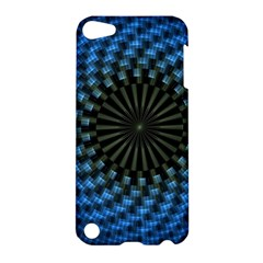Patterns Circles Rays  Apple Ipod Touch 5 Hardshell Case by amphoto