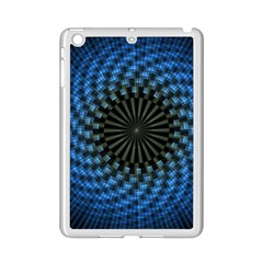 Patterns Circles Rays  Ipad Mini 2 Enamel Coated Cases by amphoto