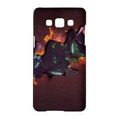 Abstraction Patterns Stripes  Samsung Galaxy A5 Hardshell Case  by amphoto