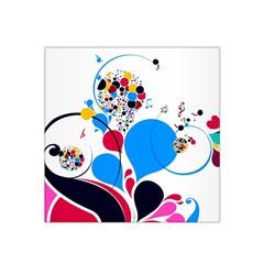 Patterns Colorful Bright  Satin Bandana Scarf by amphoto