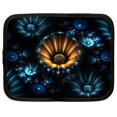 Fractal Flowers Abstract  Netbook Case (xxl)
