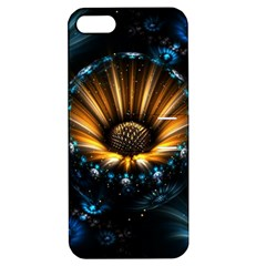 Fractal Flowers Abstract  Apple Iphone 5 Hardshell Case With Stand by amphoto