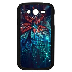 Fractal Flower Shiny  Samsung Galaxy Grand Duos I9082 Case (black) by amphoto