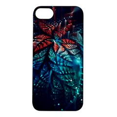 Fractal Flower Shiny  Apple Iphone 5s/ Se Hardshell Case by amphoto
