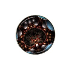 Pattern Fractal Abstract 3840x2400 Hat Clip Ball Marker by amphoto