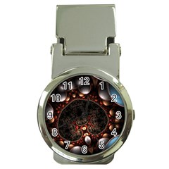 Pattern Fractal Abstract 3840x2400 Money Clip Watches by amphoto