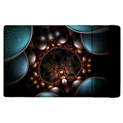 Pattern Fractal Abstract 3840x2400 Apple Ipad 3/4 Flip Case by amphoto