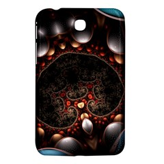 Pattern Fractal Abstract 3840x2400 Samsung Galaxy Tab 3 (7 ) P3200 Hardshell Case  by amphoto