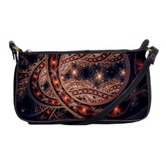 Fractal Patterns Abstract  Shoulder Clutch Bags by amphoto