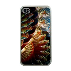 Fractal Patterns Abstract 3840x2400 Apple Iphone 4 Case (clear) by amphoto