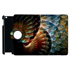 Fractal Patterns Abstract 3840x2400 Apple Ipad 2 Flip 360 Case by amphoto