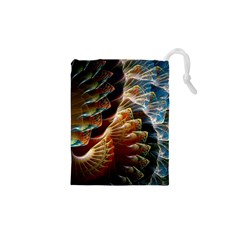 Fractal Patterns Abstract 3840x2400 Drawstring Pouches (xs)  by amphoto