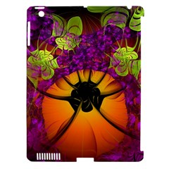 Patterns Lines Purple  Apple Ipad 3/4 Hardshell Case (compatible With Smart Cover) by amphoto