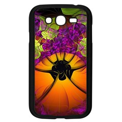 Patterns Lines Purple  Samsung Galaxy Grand Duos I9082 Case (black) by amphoto