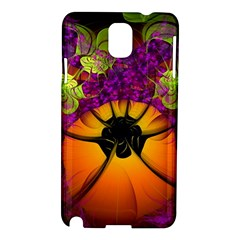 Patterns Lines Purple  Samsung Galaxy Note 3 N9005 Hardshell Case by amphoto