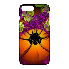 Patterns Lines Purple  Apple Iphone 7 Plus Hardshell Case by amphoto