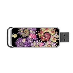 Abstract Patterns Fractal  Portable Usb Flash (one Side) by amphoto