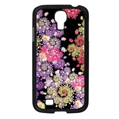 Abstract Patterns Fractal  Samsung Galaxy S4 I9500/ I9505 Case (black) by amphoto