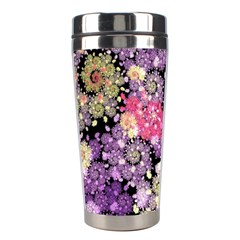Abstract Patterns Fractal  Stainless Steel Travel Tumblers by amphoto