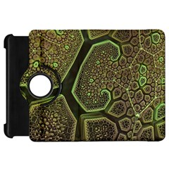 Fractal Weave Shape  Kindle Fire Hd 7  by amphoto