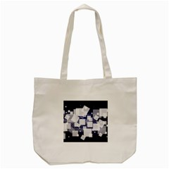 Squares Shapes Many  Tote Bag (cream) by amphoto