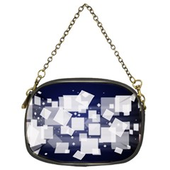 Squares Shapes Many  Chain Purses (two Sides)  by amphoto