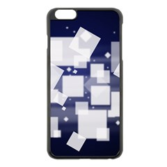 Squares Shapes Many  Apple Iphone 6 Plus/6s Plus Black Enamel Case by amphoto