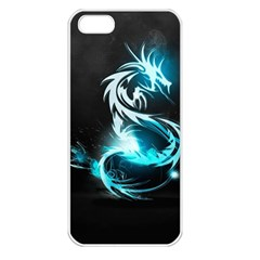 Dragon Classical Light  Apple Iphone 5 Seamless Case (white) by amphoto