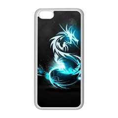 Dragon Classical Light  Apple Iphone 5c Seamless Case (white) by amphoto