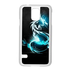 Dragon Classical Light  Samsung Galaxy S5 Case (white) by amphoto
