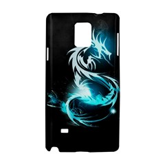 Dragon Classical Light  Samsung Galaxy Note 4 Hardshell Case by amphoto