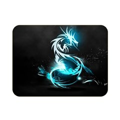 Dragon Classical Light  Double Sided Flano Blanket (mini)  by amphoto
