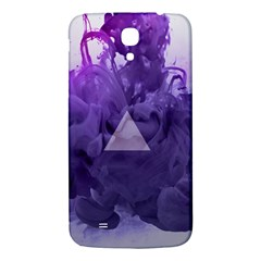 Smoke Triangle Lilac  Samsung Galaxy Mega I9200 Hardshell Back Case by amphoto