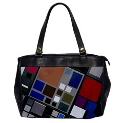 Abstract Composition Office Handbags by Nexatart