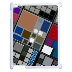 Abstract Composition Apple Ipad 2 Case (white) by Nexatart