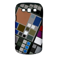 Abstract Composition Samsung Galaxy S Iii Classic Hardshell Case (pc+silicone) by Nexatart