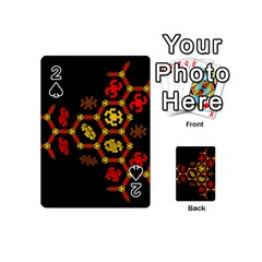 Algorithmic Drawings Playing Cards 54 (mini)  by Nexatart