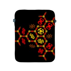 Algorithmic Drawings Apple Ipad 2/3/4 Protective Soft Cases by Nexatart