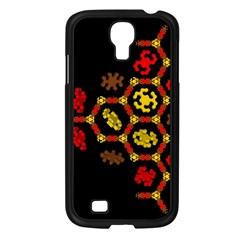 Algorithmic Drawings Samsung Galaxy S4 I9500/ I9505 Case (black) by Nexatart