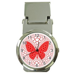 Butterfly Money Clip Watches by Nexatart